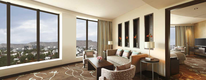 Hilton Jaipur Hotel, Indien – Hilton Suite