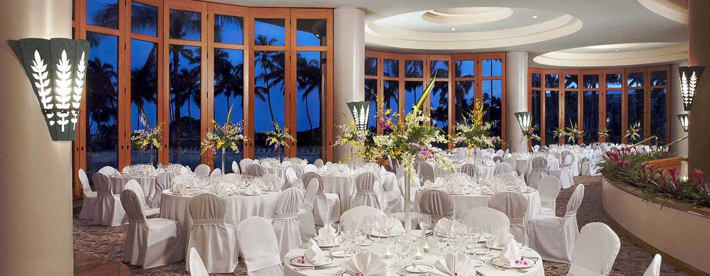 Hilton Waikoloa Village Hotel, Hawaii, USA – Bankett