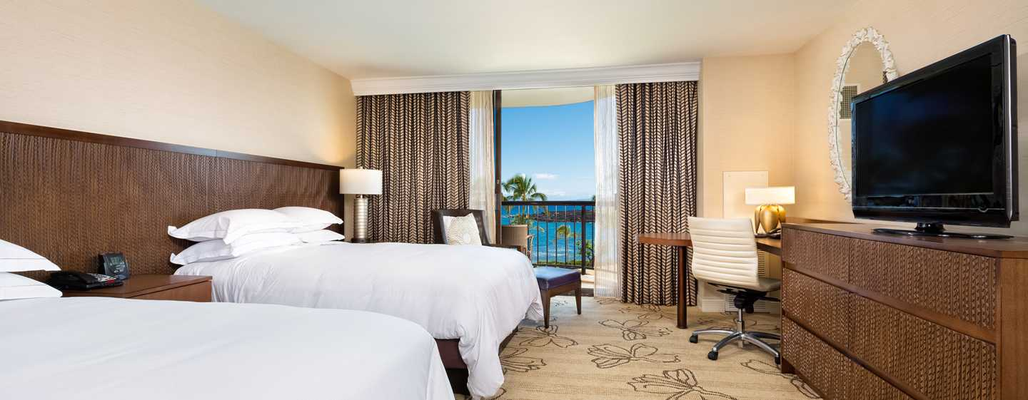 Hilton Waikoloa Village Hotel, Hawaii, USA – Zimmer im Lagunen-Tower
