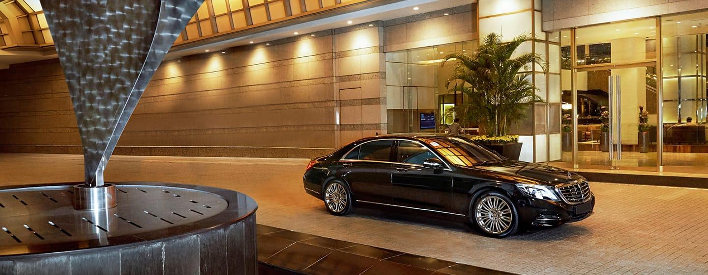 Hilton Kuala Lumpur, Malaysia– Lobby-Eingang