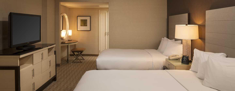 Hilton Los Angeles Airport Hotel, Kalifornien – Suite mit Doppelbetten
