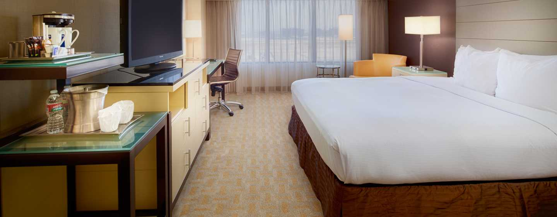 Hilton Los Angeles Airport Hotel, Kalifornien – Standard Zimmer mit King-Size-Bett