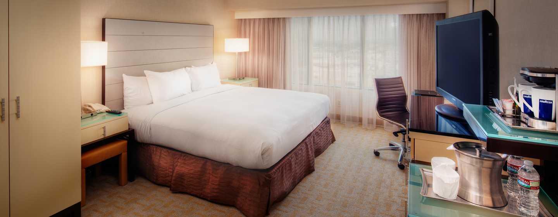 Hilton Los Angeles Airport Hotel, Kalifornien – ADA mit King-Size-Bett