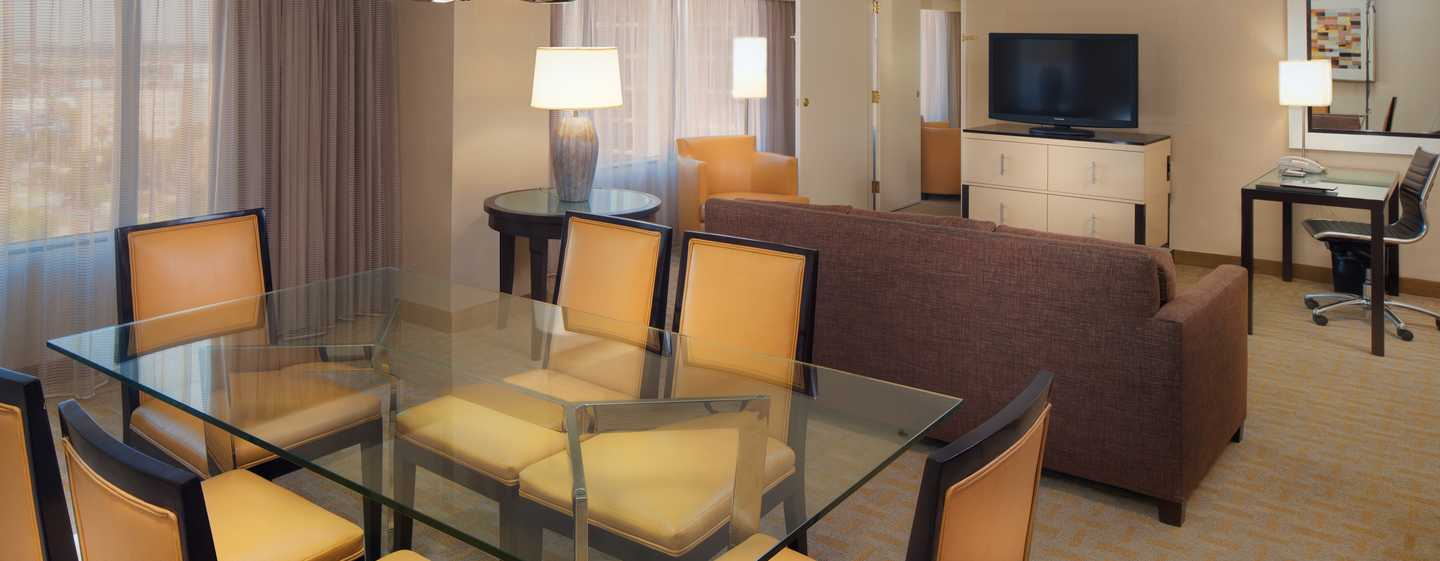 Hilton Los Angeles Airport Hotel, Kalifornien – Suite in der 14. Etage