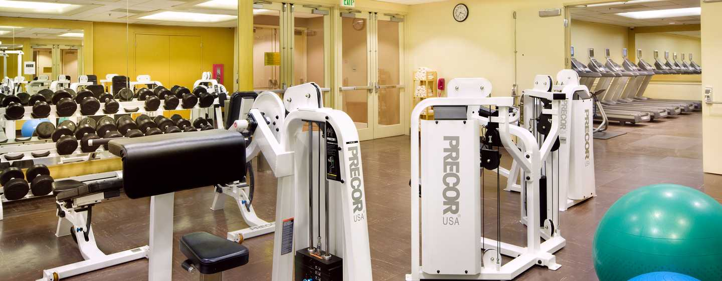 Hilton Los Angeles Airport Hotel, Kalifornien – Fitness Center