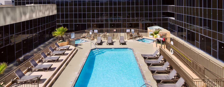 Hilton Los Angeles Airport Hotel, Kalifornien – Außenpool und Whirlpool