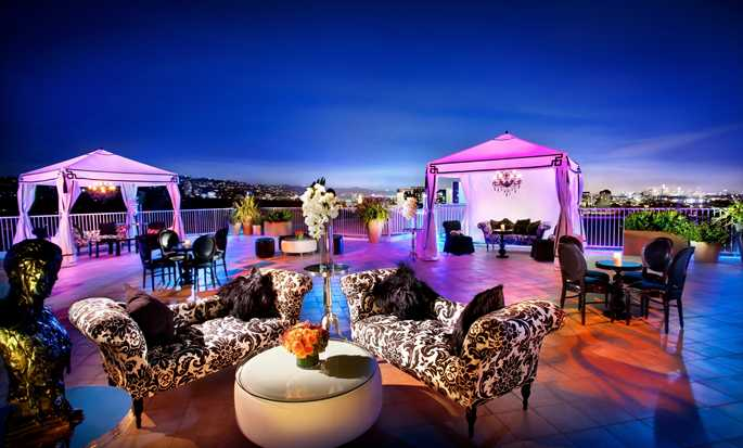 The Beverly Hilton, USA – Dachterrasse