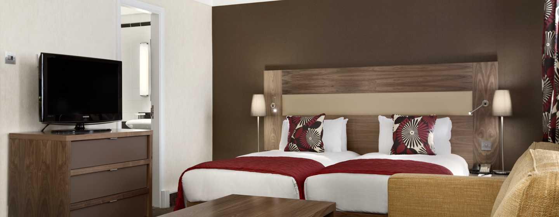 Hilton London Olympia, Großbritannien - Hilton Executive Zweibettzimmer