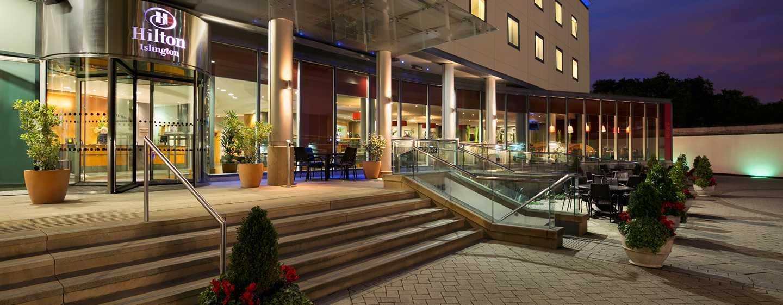 Hilton London Angel Islington Hotel, Großbritannien -Außenansicht des Hotels