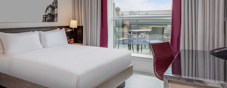 Hilton London Angel Islington Hotel, Großbritannien -Suite mit Terrasse