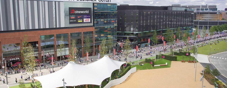 Hilton London Wembley, Großbritannien - Das London Designer Outlet