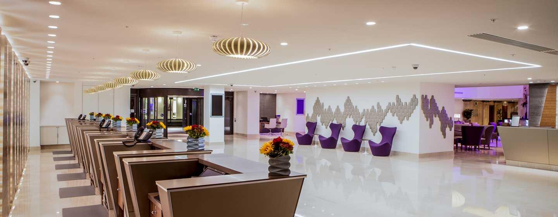 Hilton Hotel London Metropole– Empfang