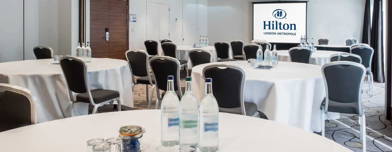 Hilton London Metropole Hotel– Meetingräume im Zwischengeschoss