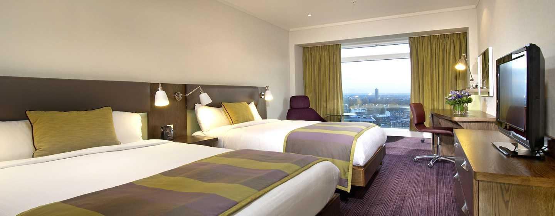 Hilton London Metropole Hotel – Superior Zimmer mit Queen-Size-Bett