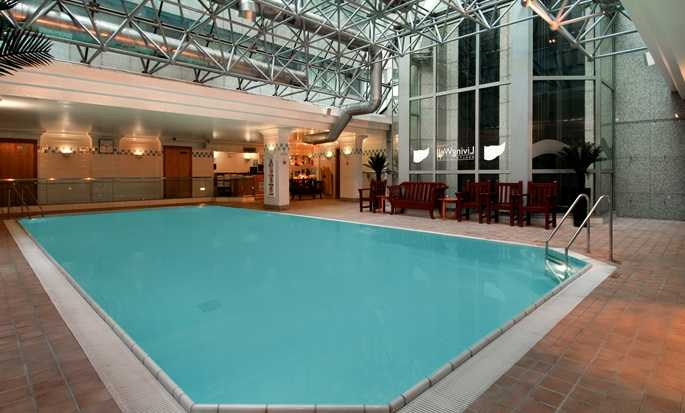 Hilton London Metropole Hotel – Innenpool