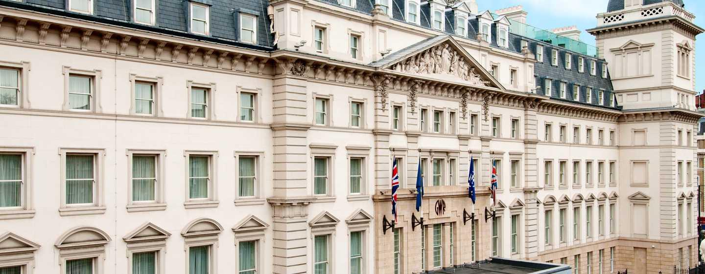Hilton London Paddington, Großbritannien – Außenbereich des Hotels