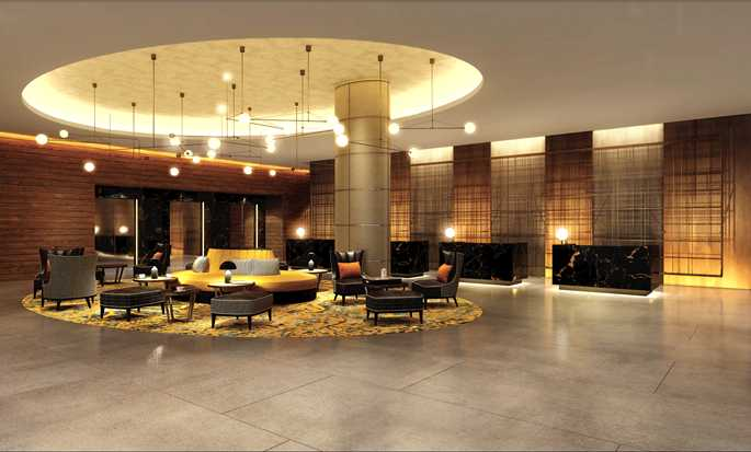 Hilton London Bankside, GB – Lobby