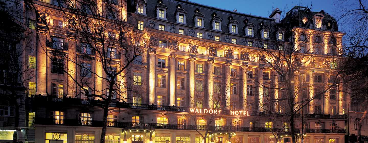 The Waldorf Hilton, London – Edwardianische Eleganz