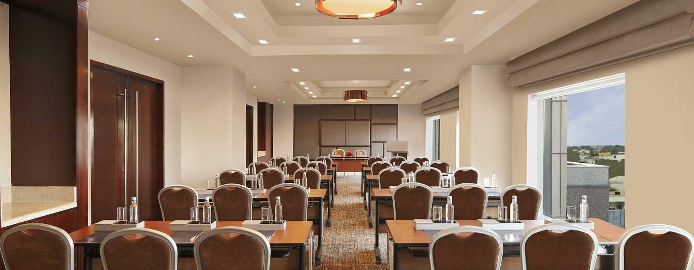 """Hilton Chennai Hotel, Indien - Tagungsraum nach """"Hilton Meetings""""-Standard"""