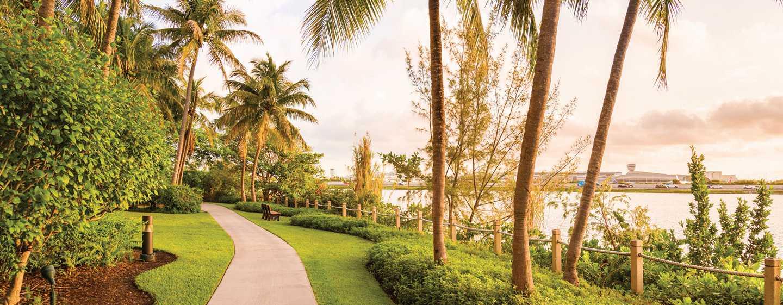 Hilton Miami Airport Hotel, Florida – Joggingpfad