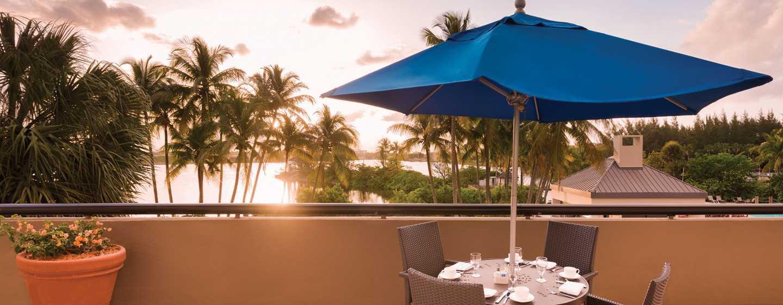 Hilton Miami Airport Hotel, Florida – Sugarloaf-Terrasse