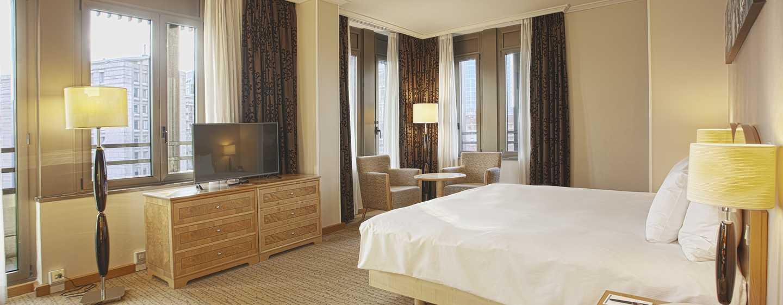 Hilton Milan Hotel, Italien– Executive Zimmer mit Kingsize-Bett