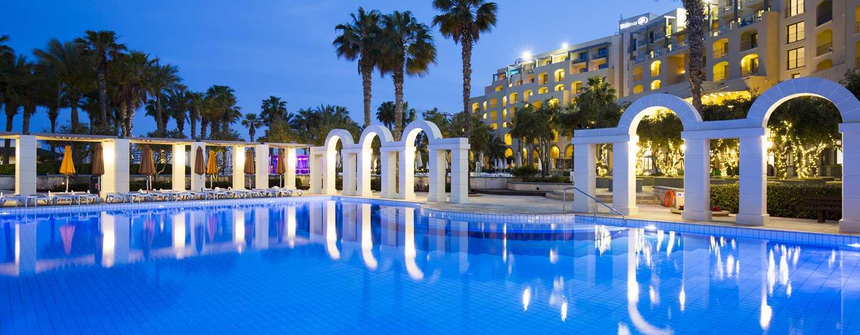 Hilton Malta Hotel, San Ġiljan, Malta, Horizon Swimmingpool