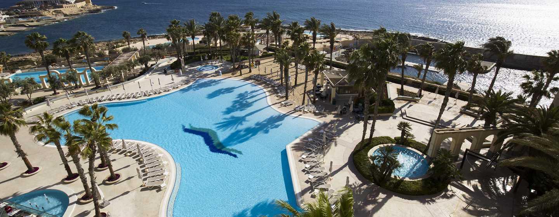 Hilton Malta Hotel, San Ġiljan, Malta, Haupt-Swimmingpool