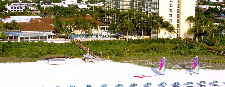 Hilton Marco Island Beach Resort and Spa, Florida, Vereinigte Staaten - Außenansicht