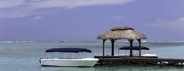 Hilton Mauritius Resort & Spa Hotel – Ausflüge mit dem Boot