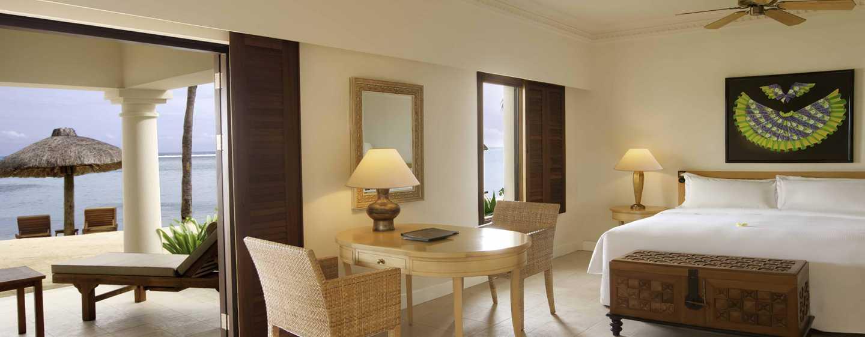 Hilton Mauritius Resort & Spa Hotel– Junior Suite am Strand