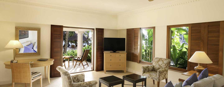 Hilton Mauritius Resort & Spa Hotel– Familiensuite am Strand