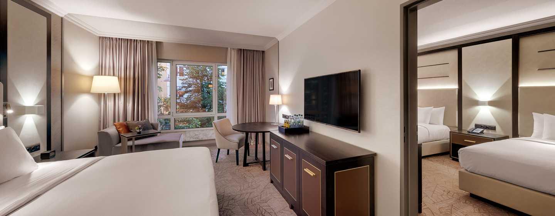 Hilton Munich City, Deutschland - Zimmer mit Verbindungstür