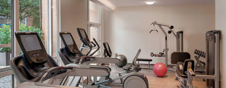 Hilton Munich City hotel, Deutschland - Fitness Lounge