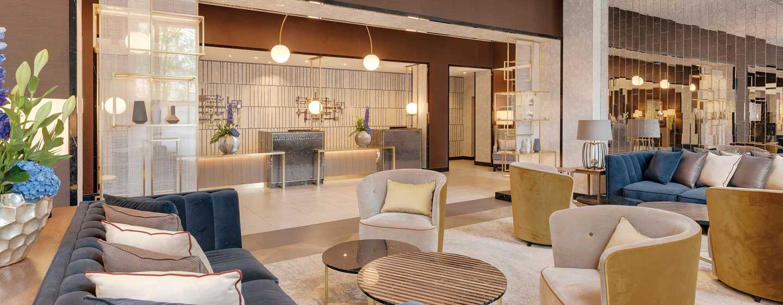 Hilton Munich City hotel, Deutschland - Hotel Lobby