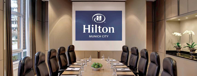 Hilton Munich City, Deutschland - Meetingbereich