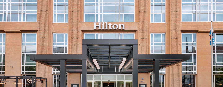 Hilton Munich City, Deutschland - Außenbereich des Hotels