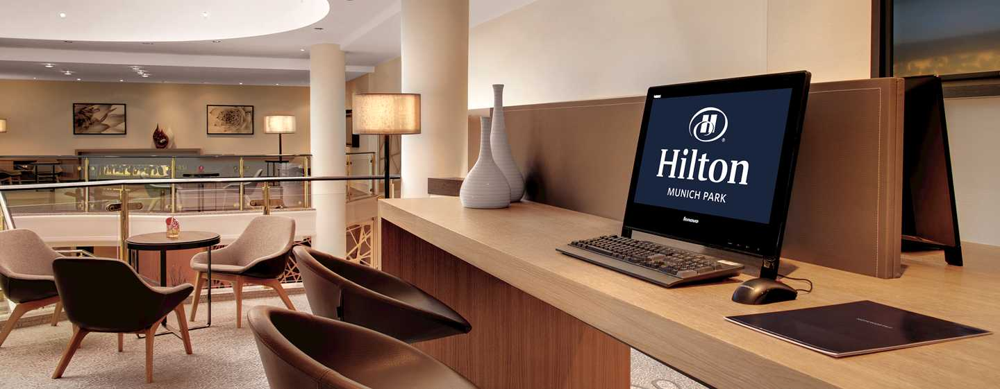 Hilton Munich Park Hotel, Deutschland – Business Center