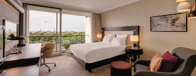 Hilton Munich Park Hotel, Deutschland– Hilton Zimmer mit Queensize-Bett