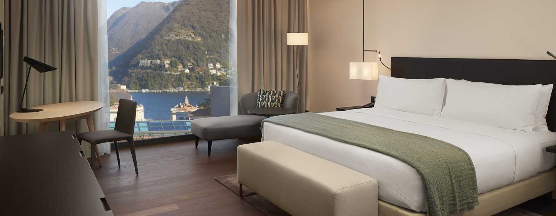 Hilton Lake Como, Italien– Deluxe Zimmer mit Seeblick