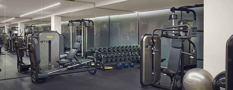 Hilton Lake Como, Italien– Fitnesscenter