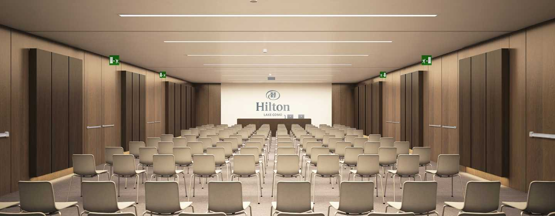 Hilton Lake Como, Italien– Meetingraum