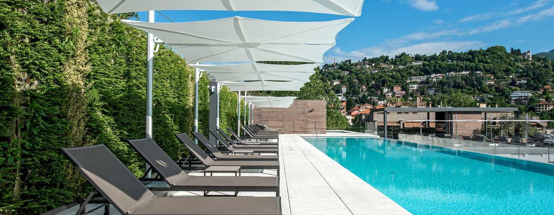 Hilton Lake Como Hotel, Italien– Pool