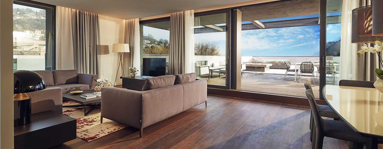 Hilton Lake Como Hotel, Italien– Präsidenten Suite