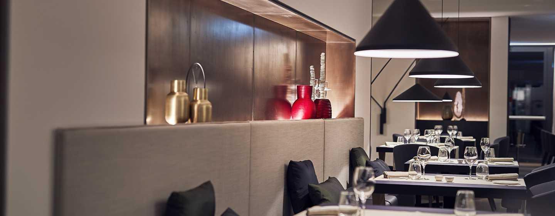 Hilton Lake Como Hotel, Italien– Restaurant Satin