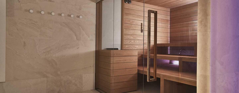 Hilton Lake Como, Italien– Sauna