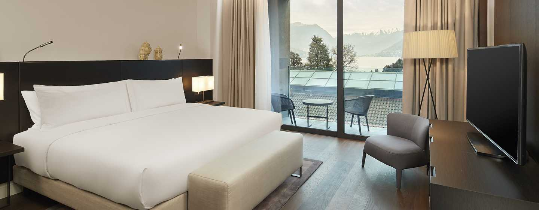 Hilton Lake Como, Italien– Suite mit einem Schlafzimmer