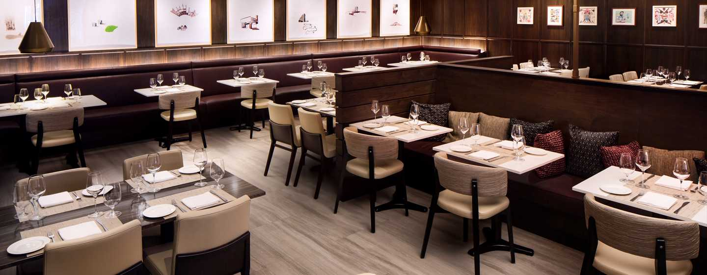 Hilton Brooklyn New York, USA – Restaurant Black Walnut
