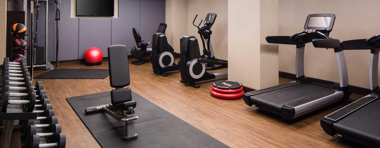 Hilton Brooklyn New York, USA– Rund um die Uhr geöffnetes Fitnesscenter