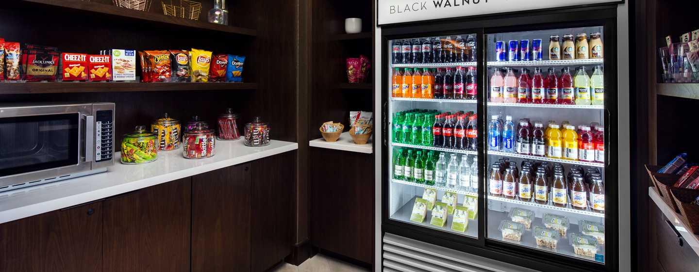 Hilton Brooklyn New York, USA– Rund um die Uhr geöffneter Pantry Market